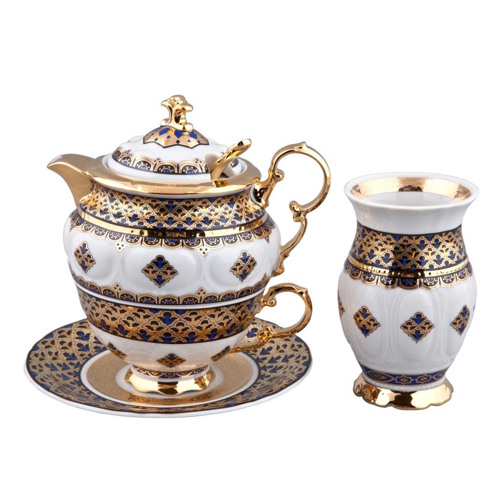 Набор для чая ДУО ДЕЛЮКС 2075, декор - МАРОККО, от Rudolf Kampf