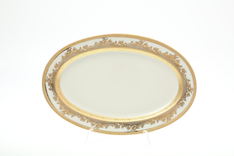 Блюдо овальное CREAM GOLD 9320 от Falkenporzellan