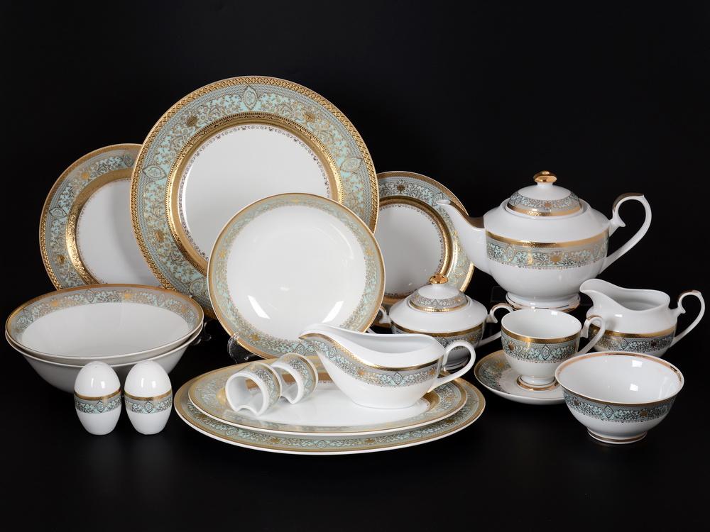 Столово-чайный сервиз БЕАТРИС от Royal Classics на 12 персон