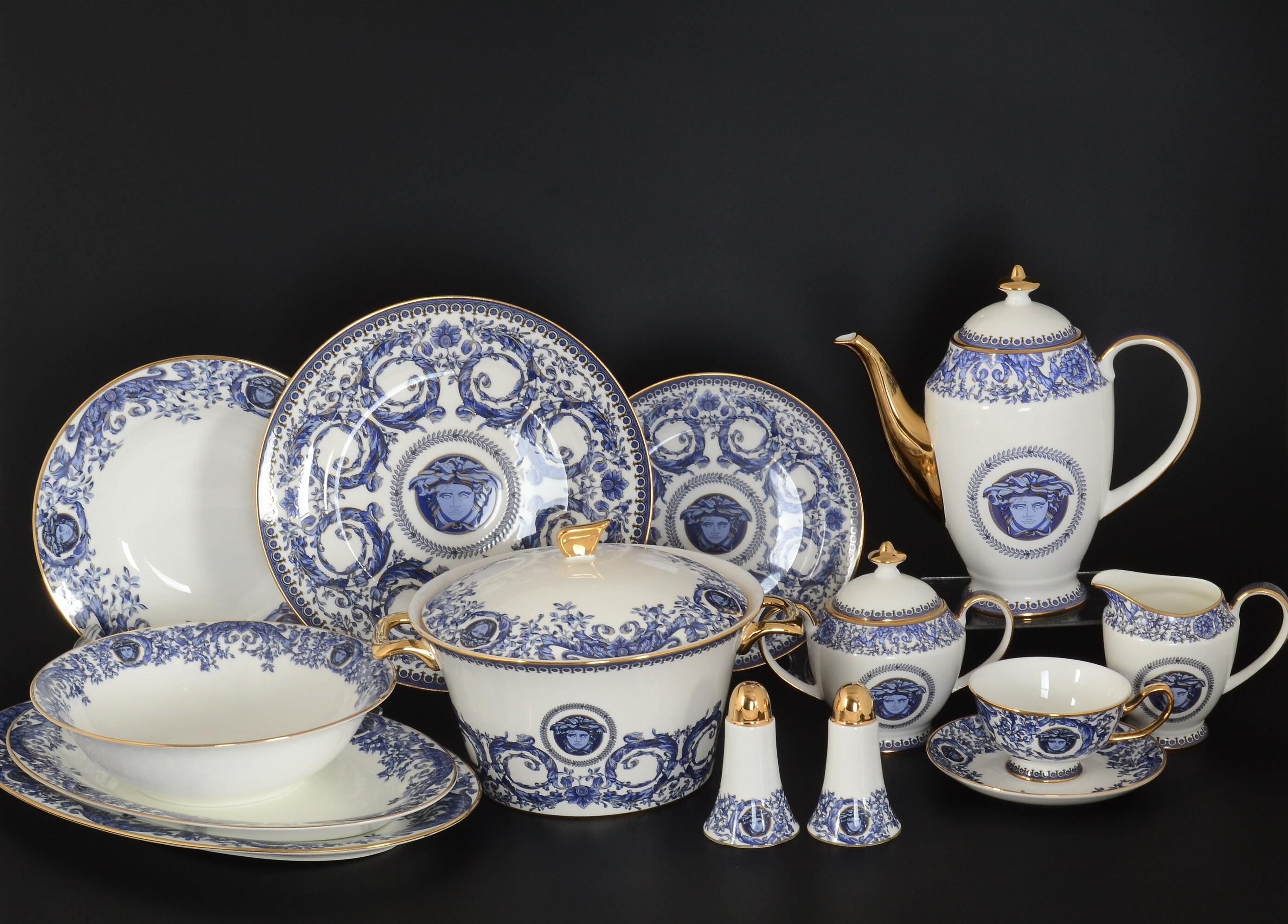 Столово-чайный сервиз ВЕРСАЧЕ от Royal Classics