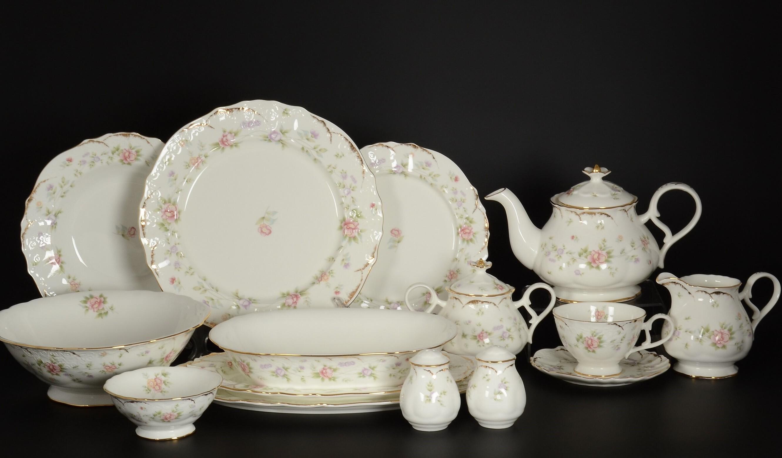 Столово-чайный сервиз ВОСПОМИНАНИЕ от Royal Classics