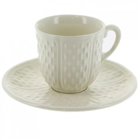 Чашка и блюдце для кофе ПОНТ-О-ШУ