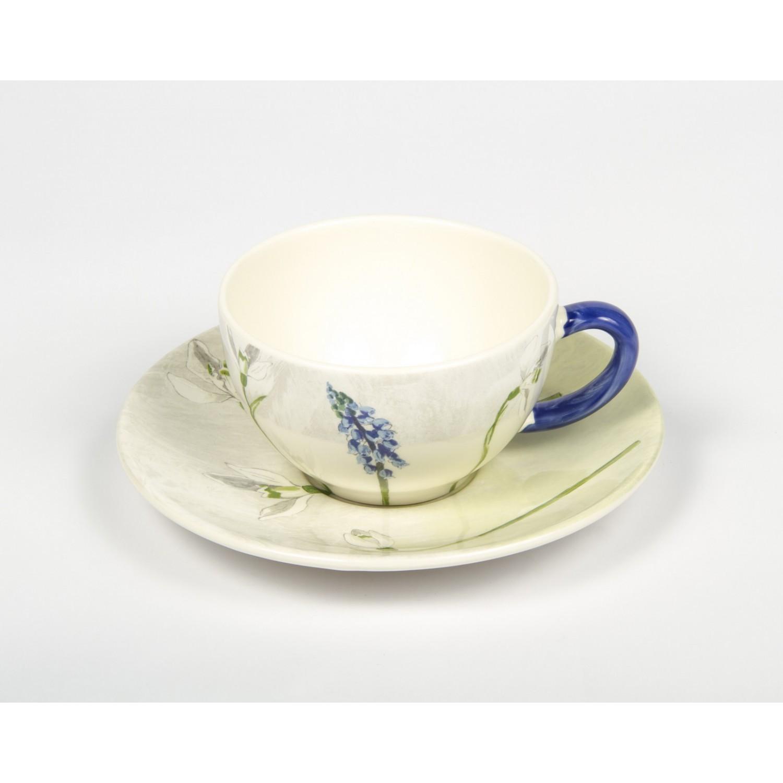 Чашка и блюдце для чая АЛИС (Alice) от Gien