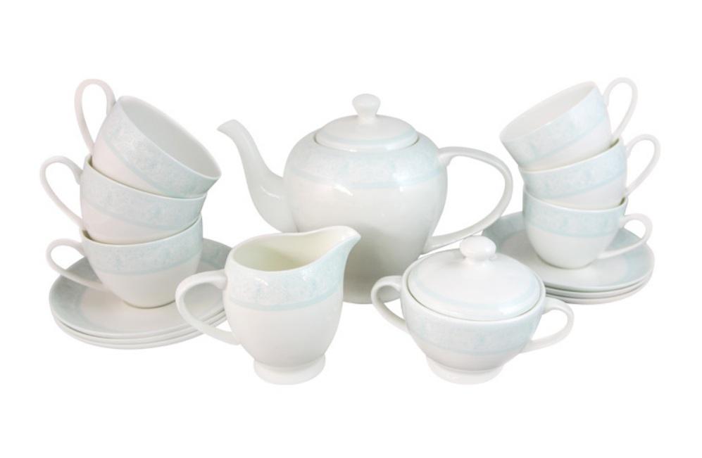 Чайный сервиз ДИОНИС-АКВАМАРИН от Akky на 6 персон