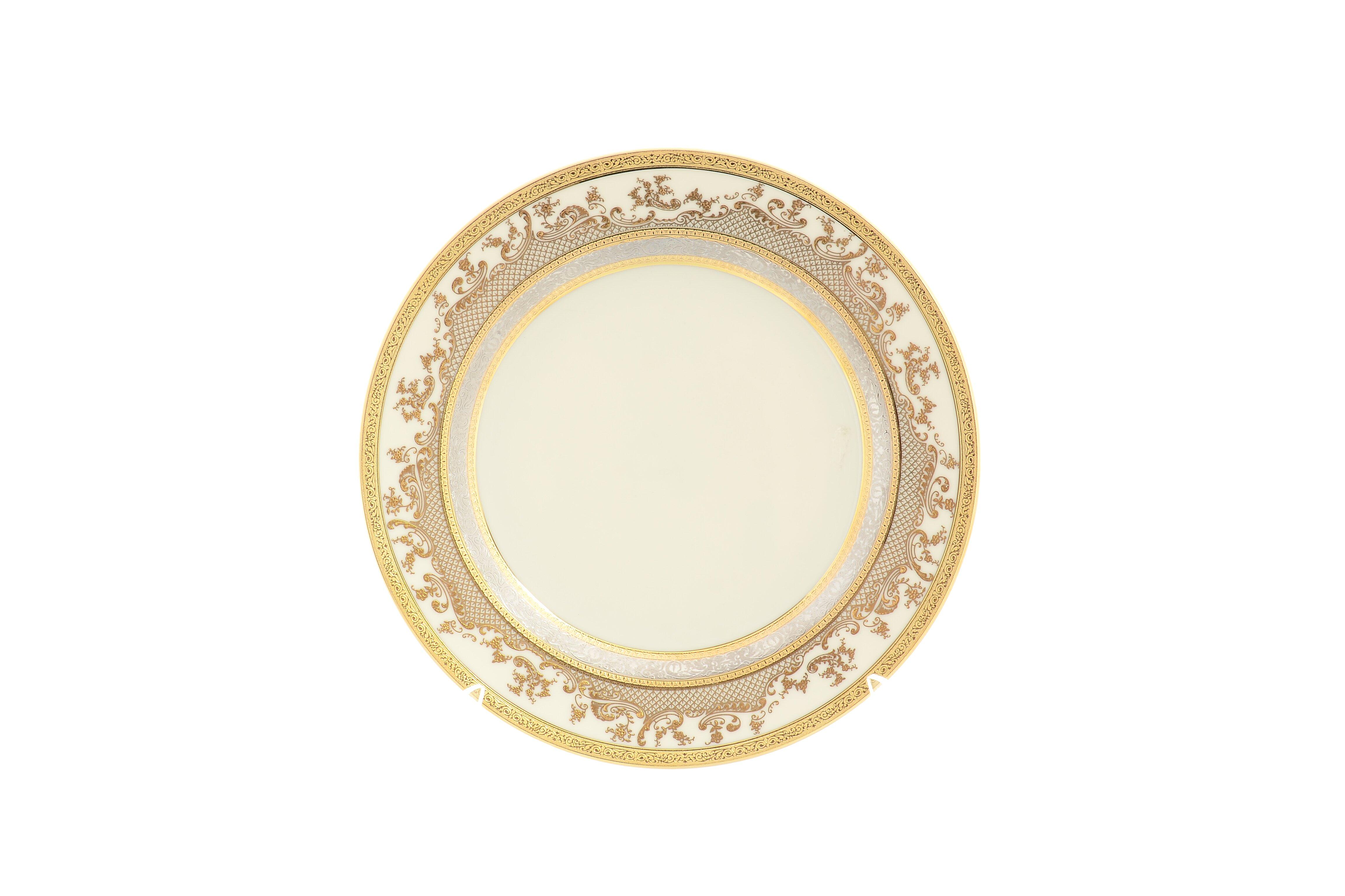 Набор тарелок 21 см CREAM GOLD 9320 от Falkenporzellan