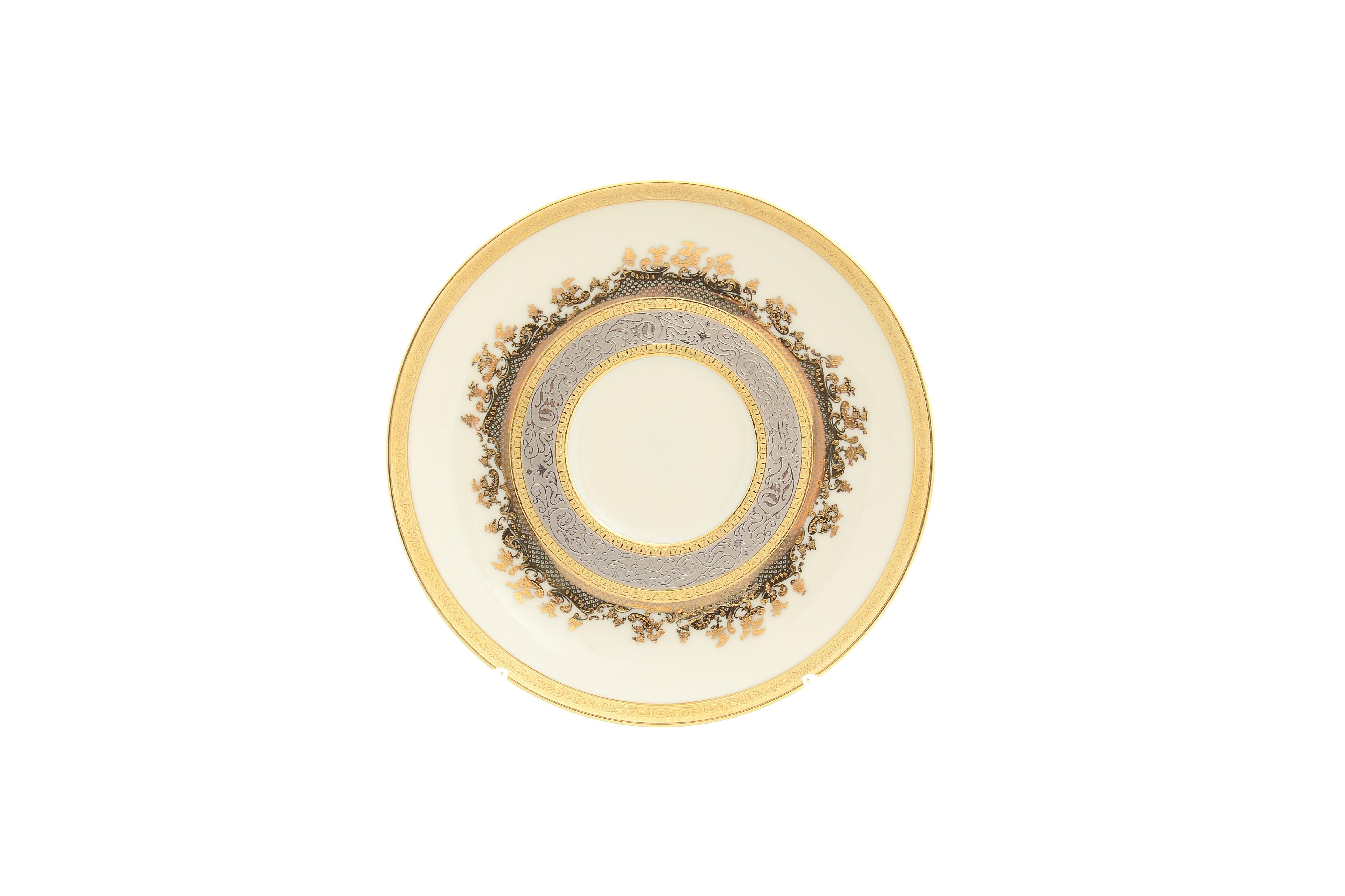 Блюдца CREAM GOLD 9320 от Falkenporzellan