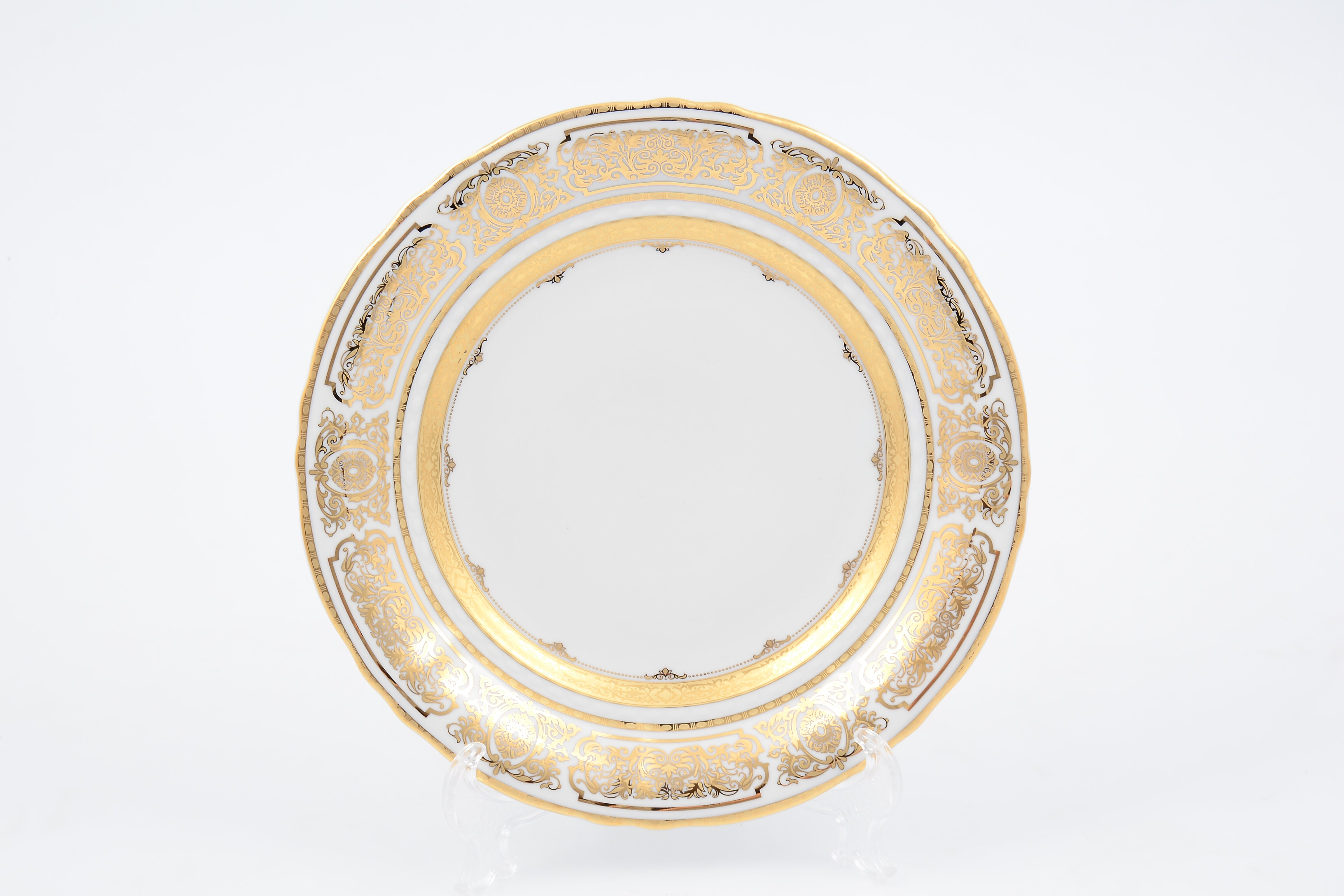 Набор фарфоровых тарелок 25 см от Leander (Чехия)