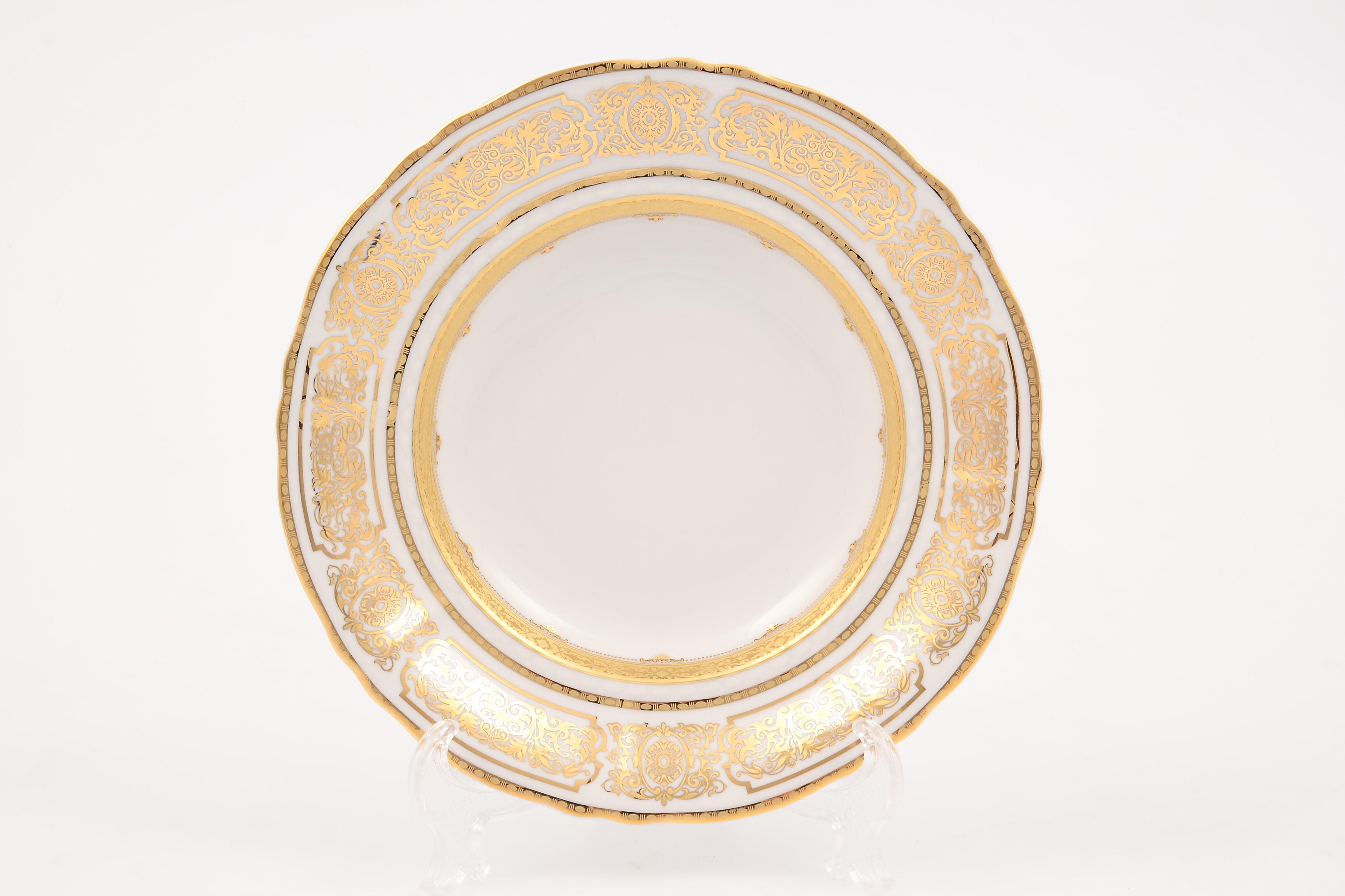 Набор фарфоровых глубоких тарелок 23 см СОНАТА 3250 от Leander, 6 шт.