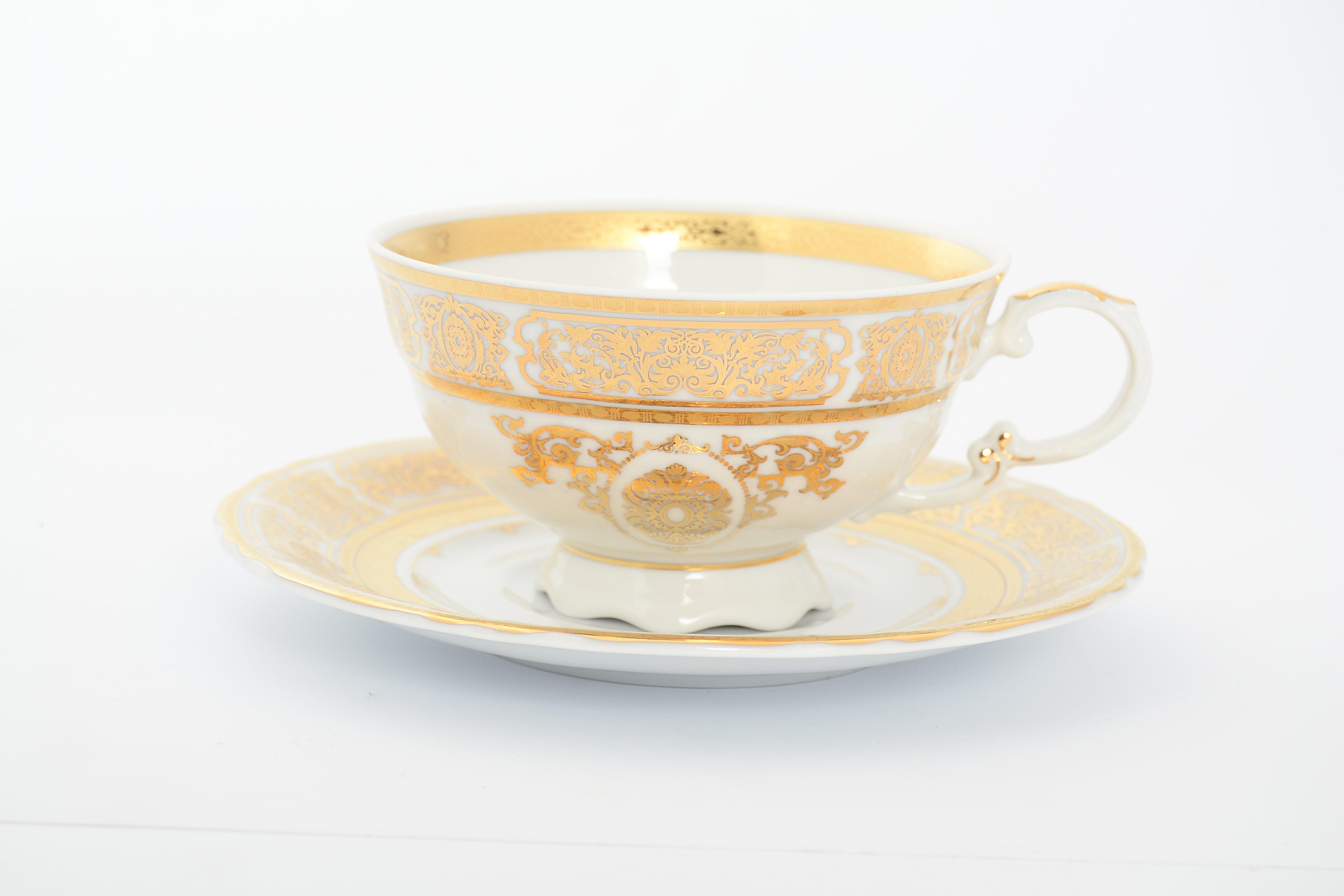 Набор чайных пар от Leander на 6 персон