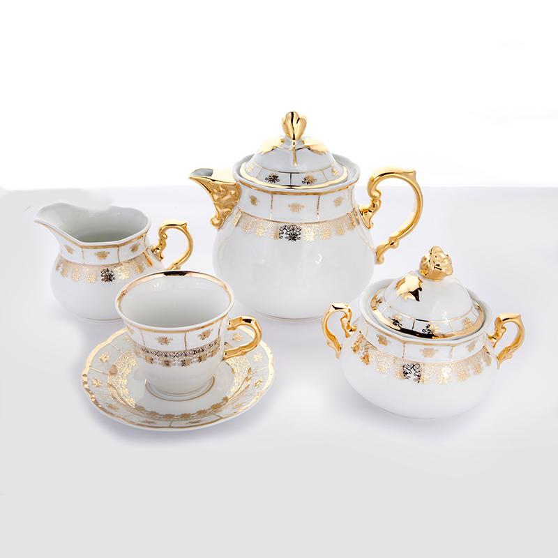Сервиз чайный МЕНУЭТ НАТАЛИ от Thun 1794 a.s. на 6 персон, 15 предметов
