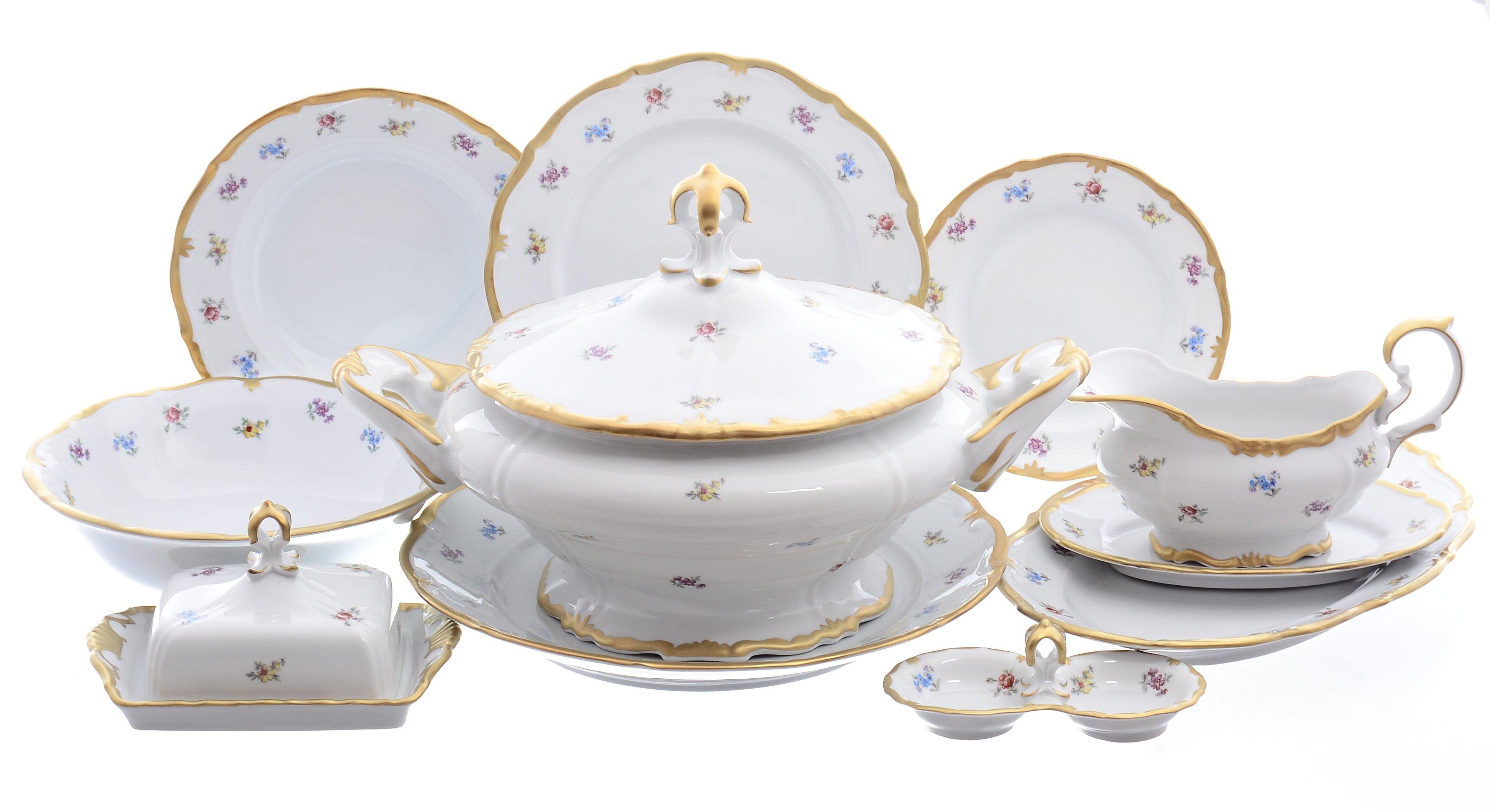 Столовый сервиз от Queens Crown (Prince Porcelain) на 6 персон
