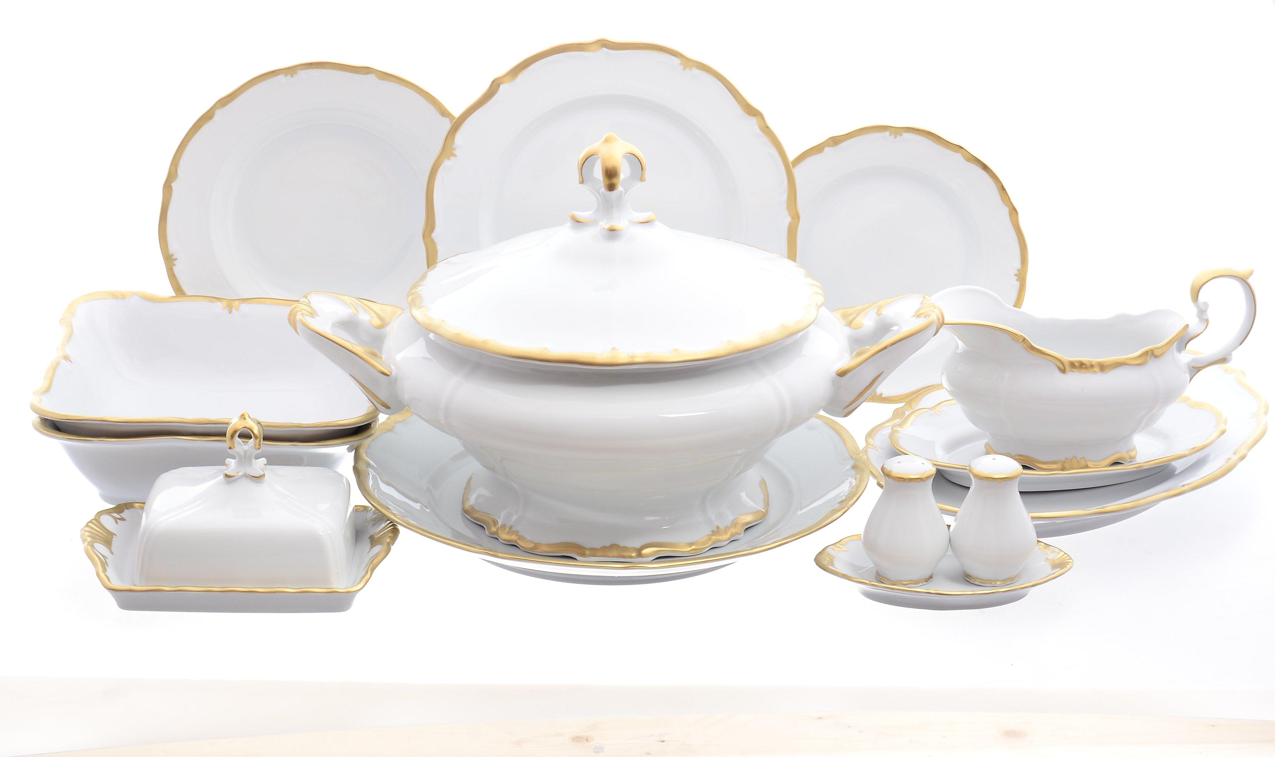 Столовый сервиз ПРЕСТИЖ от Queens Crown (Prince Porcelain) на 6 персон