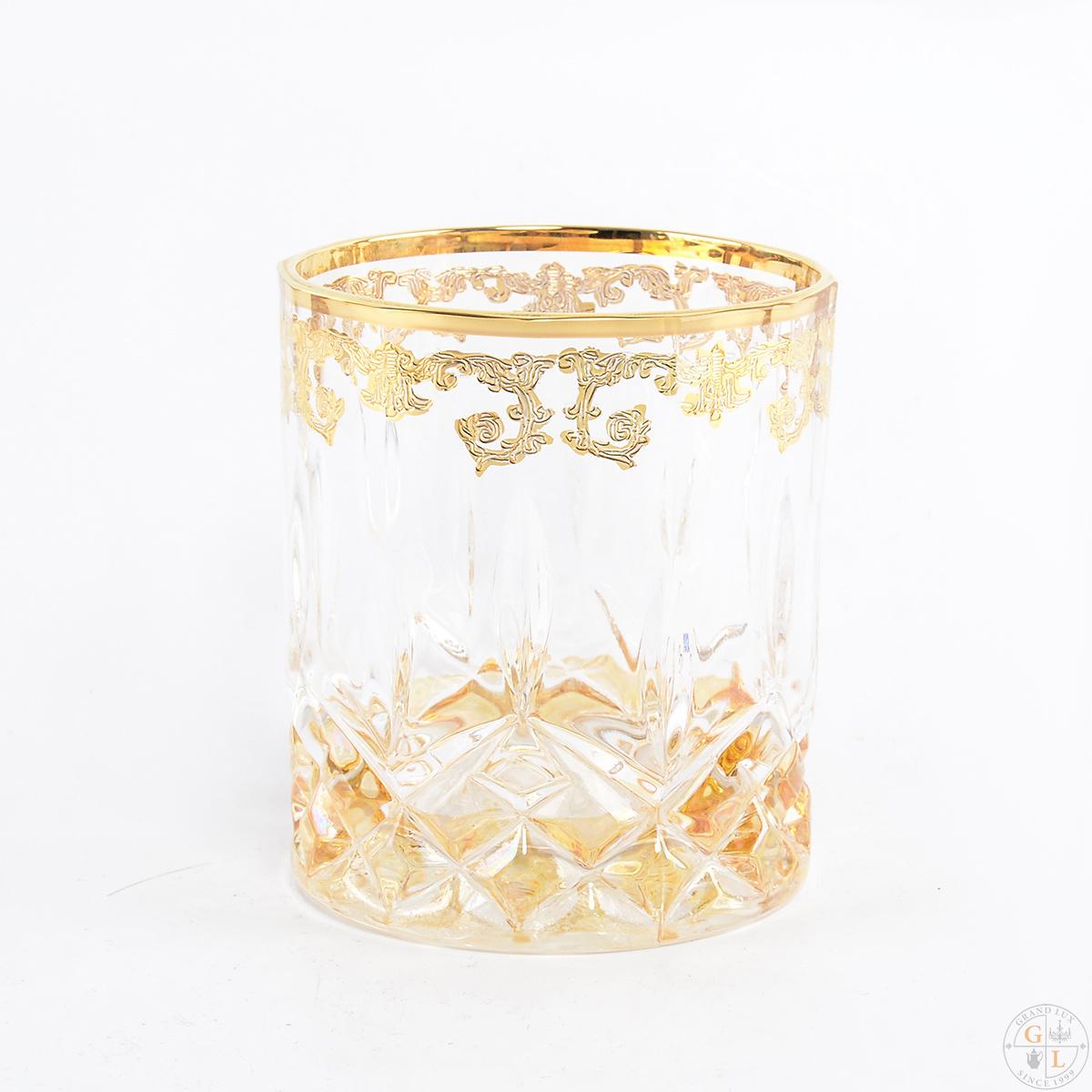 Набор стаканов для виски ADAGIO от TIMON, хрусталь, 6 шт.