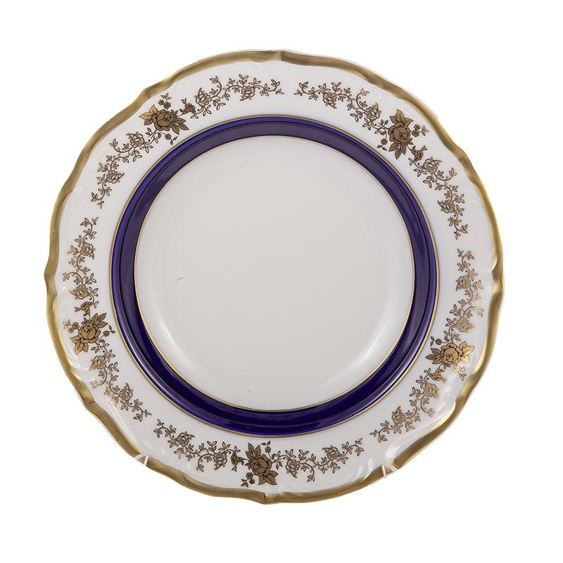 Набор фарфоровых глубоких тарелок 22.5 см ДЕКОР 2705 от Epiag, 6 шт.