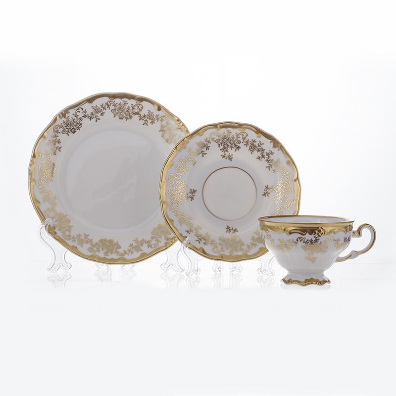 Набор подарочный чайный КАСТЭЛ от Weimar Porzellan