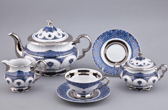 Чайный сервиз НАЦИОНАЛЬНЫЕ ТРАДИЦИИ (National Traditions) 2145, серия ИРАН, от Rudolf Kampf на 6 персон, 15 предметов