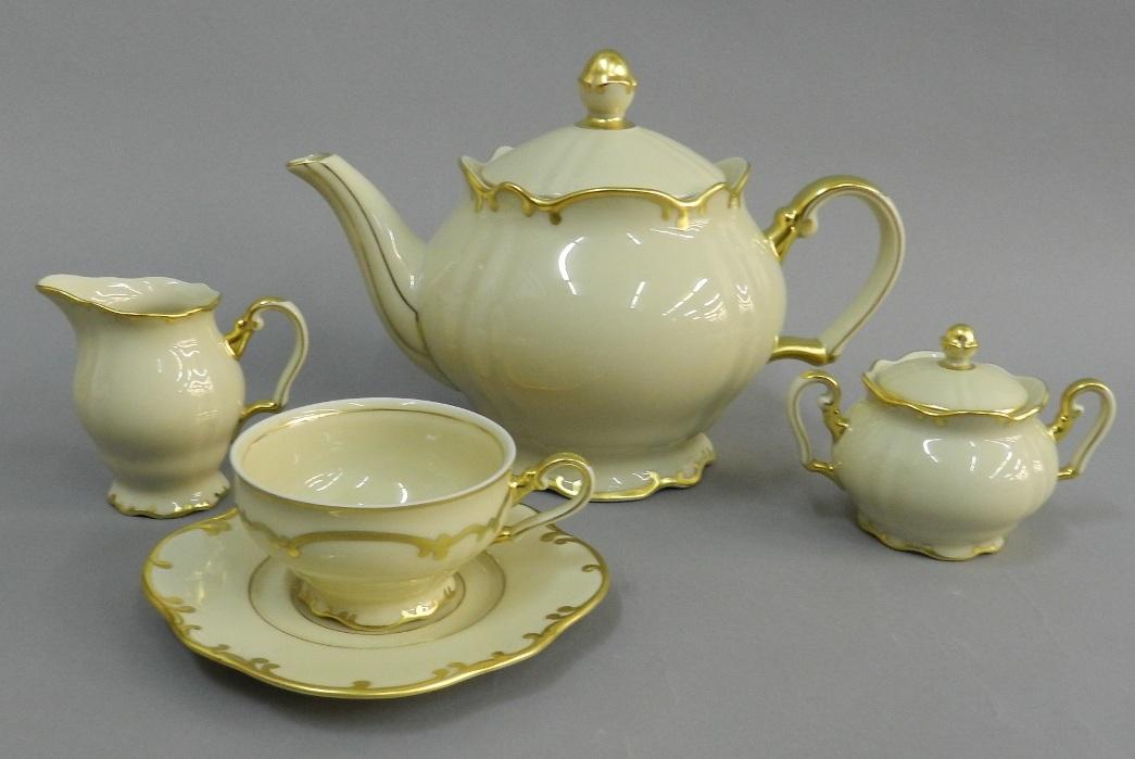 Чайный сервиз из коллекции ЮБИЛЕЙНАЯ. 105 ЛЕТ RUDOLF KAMPF, серия 2523 от Rudolf Kampf