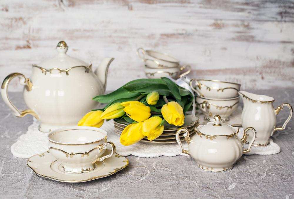Чайный сервиз из коллекции ЮБИЛЕЙНАЯ. 105 ЛЕТ RUDOLF KAMPF