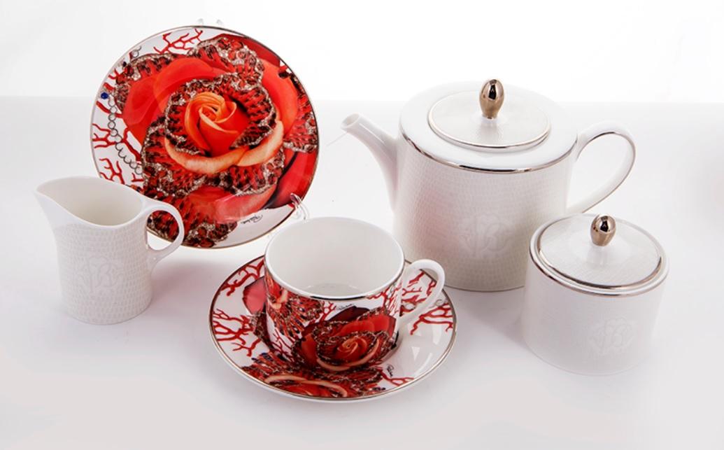 Чайный сервиз РОЗА ДЖЕВЕЛ