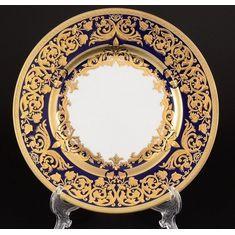 Набор тарелок NATALIA COBALT GOLD