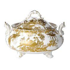 Супница с крышкой AVES GOLD