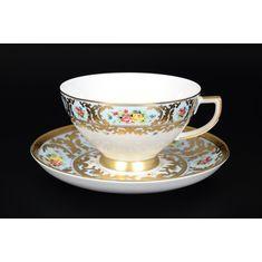 Набор чайных пар VIENNA BLUE GOLD