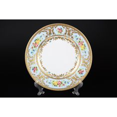 Набор тарелок 26.5 см VIENNA BLUE GOLD
