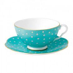 Чайная пара ГОРОШЕК (Polka Dot) от Wedgwood