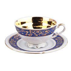 Чашка низкая 200 мл с блюдцем НАЦИОНАЛЬНЫЕ ТРАДИЦИИ (National Traditions) 1824