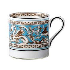 Чашка кофейная 80 мл ФЛОРЕНТИЙСКАЯ БИРЮЗА