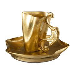 Чашка 0.15 л и блюдце ДАЛИ от Rudolf Kampf