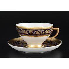 Набор чайных пар 220 мл IMPERIAL COBALT GOLD