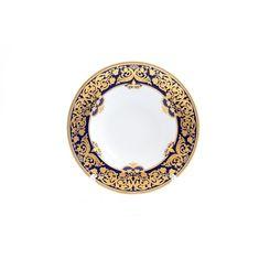 Набор глубоких тарелок 23 см  NATALIA COBALT GOLD