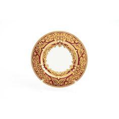 Набор тарелок 17 см NATALIA BORDEAUX GOLD от Falkenporzellan