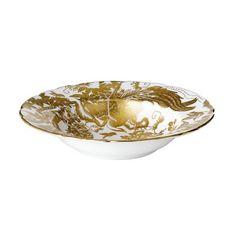 Тарелка глубокая с широким бортом AVES GOLD от Royal Crown Derby
