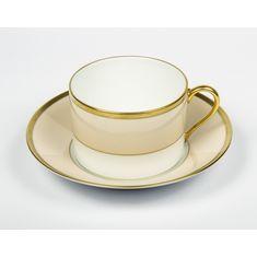 Подарочный чайный набор РАДУГА от Haviland & C. Parlon из двух чайных пар, розовый опал