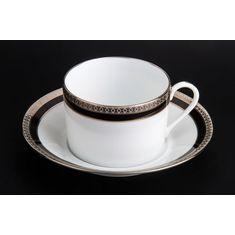 Чайная пара СИМФОНИЯ ПЛАТИНА от Haviland