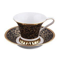 Чашка высокая с блюдцем ВИЗАНТИЯ (Byzantine) 2244 от Rudolf Kampf
