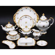 Сервиз чайный РОЗА ЗОЛОТАЯ от Weimar Porzellan