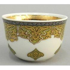 Чашка для арабского кофе НАЦИОНАЛЬНЫЕ ТРАДИЦИИ 2135, серия САУДОВСКАЯ АРАВИЯ (оливковый), от Rudolf Kampf