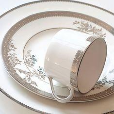 Чашка кофейная ПЛАТИНОВОЕ КРУЖЕВО от Wedgwood & Vera Wang