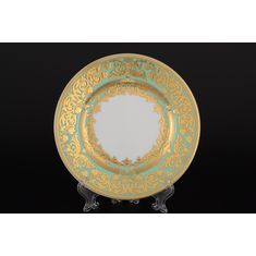 Набор тарелок NATALIA GREEN GOLD от Falkenporzellan