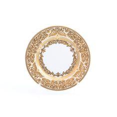 Набор тарелок 17 см NATALIA CREME GOLD от Falkenporzellan