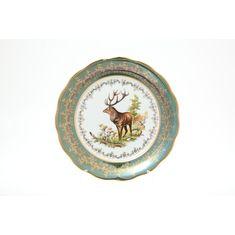 Тарелки ОХОТА зеленая Sterne Porcelan