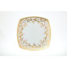 Блюдо круглое TOSCA BORDEAUX GOLD от Falkenporzellan