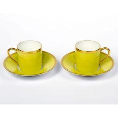 Набор из двух кофейных пар РАДУГА от Haviland & C. Parlon
