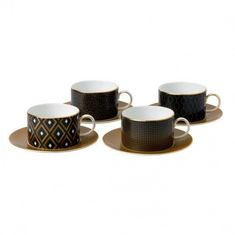 Чашки с блюдцами АРРИС (Arris) от Wedgwood
