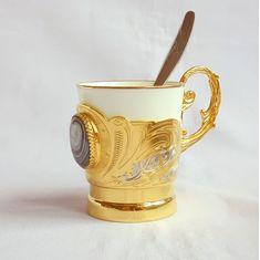 Кофейная чашка АГАТ от Zlatoust