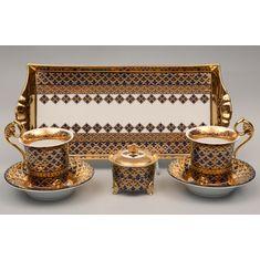 Подарочный набор для чая или кофе ТЕТ-А-ТЕТ, коллекция НАЦИОНАЛЬНЫЕ ТРАДИЦИИ, декор МАРОККО, от Rudolf Kampf