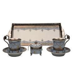Подарочный набор для чая или кофе ТЕТ-А-ТЕТ, коллекция НАЦИОНАЛЬНЫЕ ТРАДИЦИИ, декор ИРАН, от Rudolf Kampf